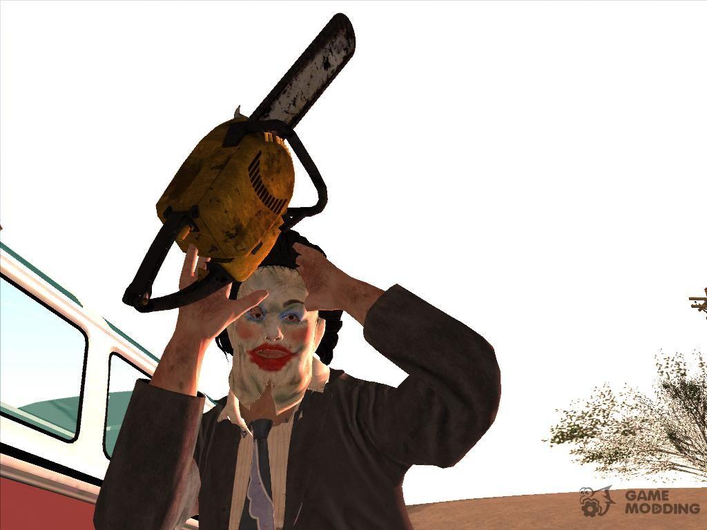 "leatherface ""texas chainsaw massacre"" for gta san andreas"