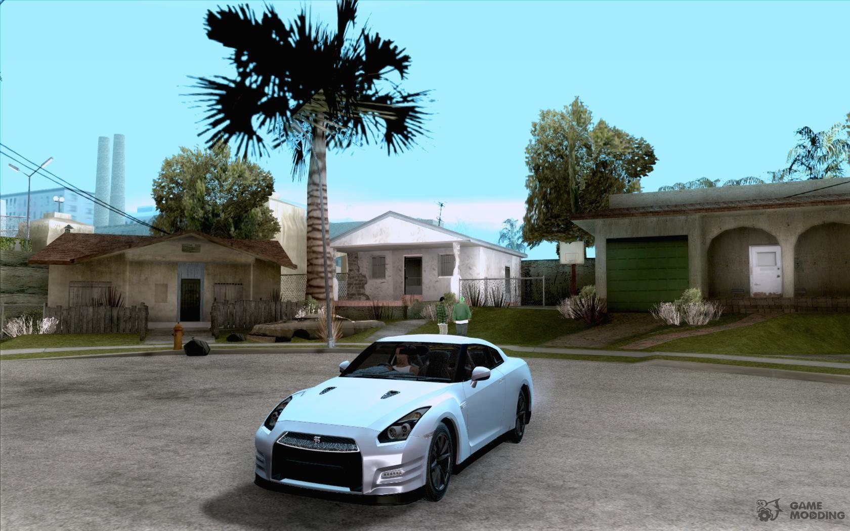 Nissan GTR R35 Tunable v2 for GTA San Andreas