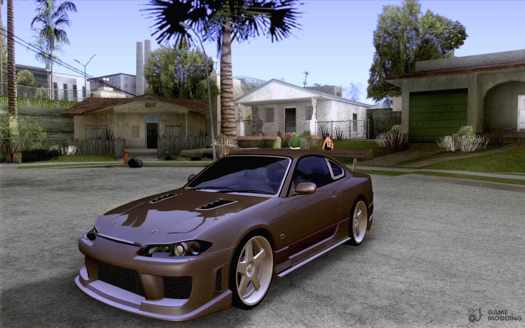 nissan silvia s15 jc2 tuning for gta san andreas. Black Bedroom Furniture Sets. Home Design Ideas