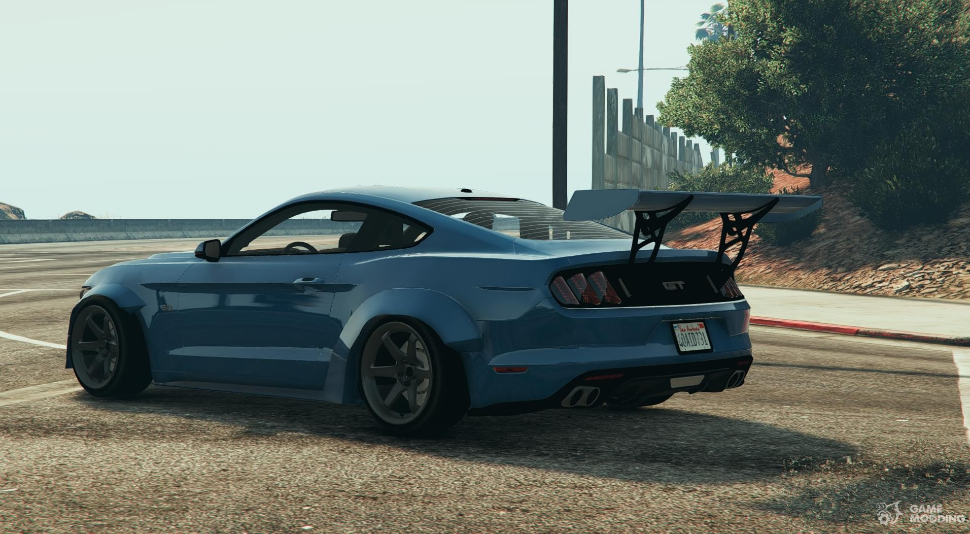 ford mustang gt for gta 5. Black Bedroom Furniture Sets. Home Design Ideas