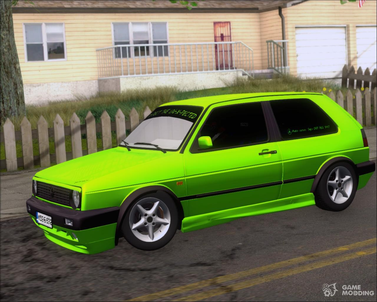 volkswagen golf mkii zelengija tuning a k for gta san andreas. Black Bedroom Furniture Sets. Home Design Ideas