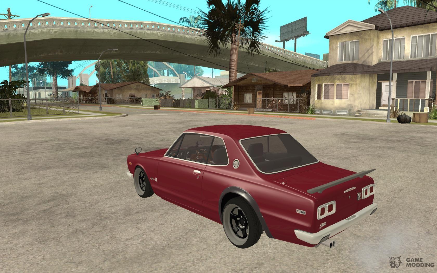 Nissan Skyline 2000GT-R JDM Style for GTA San Andreas