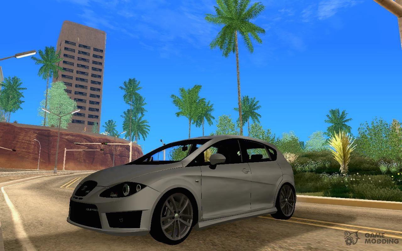 seat leon cupra r tuning package for gta san andreas. Black Bedroom Furniture Sets. Home Design Ideas