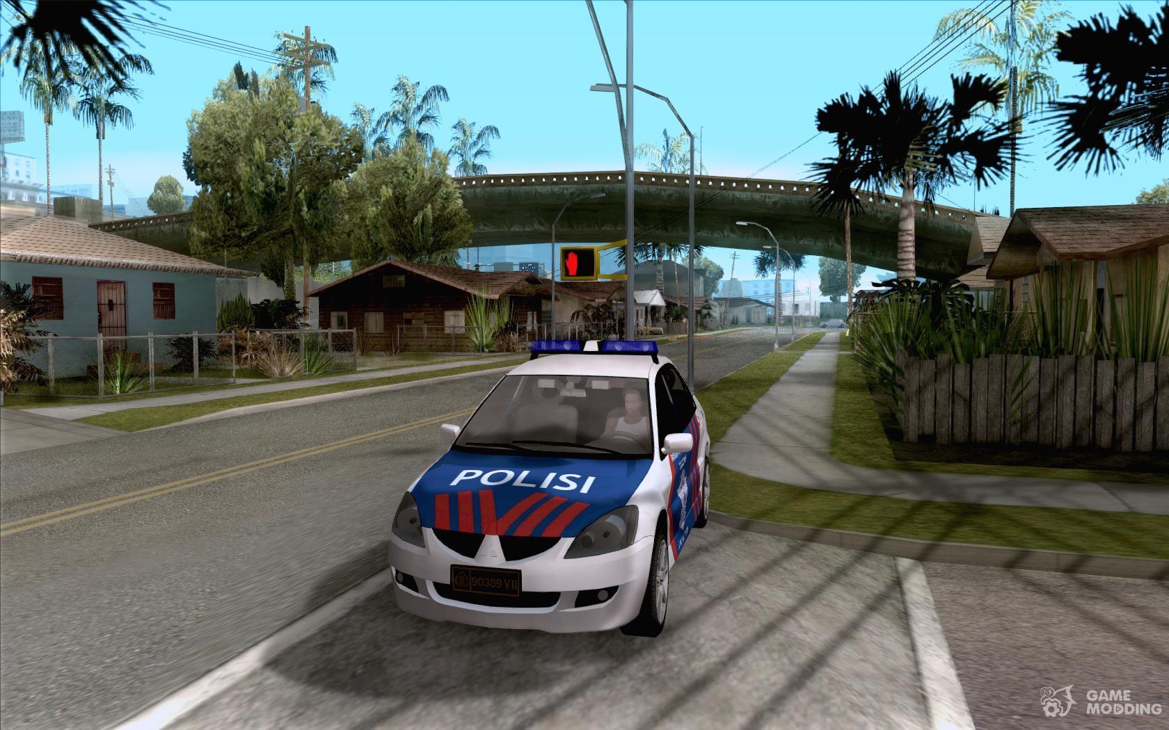 Mitsubishi Lancer Police Indonesia For Gta San Andreas