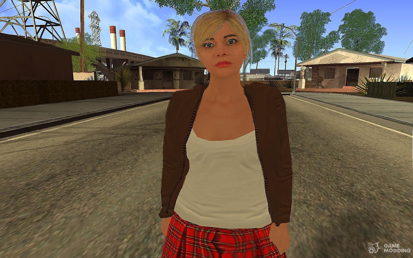 GTA 5 Tracy De Santa for GTA San Andreas