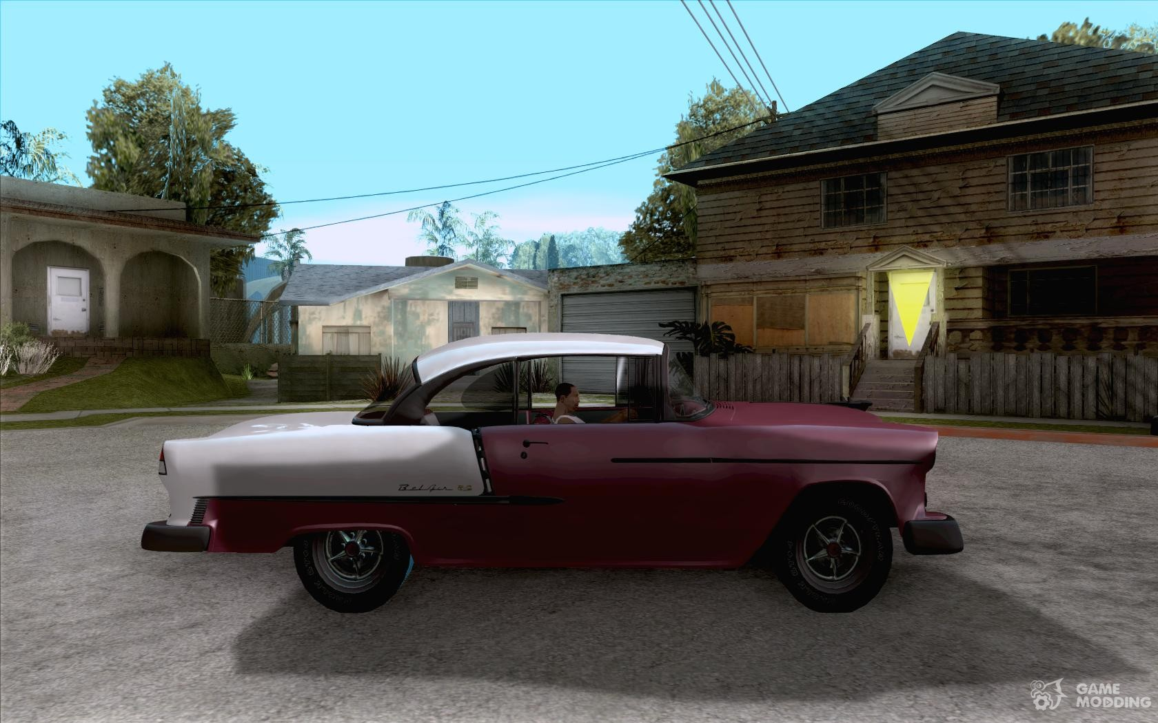 1955 chevy belair sports coupe for gta san andreas - 1955 chevrolet belair sport coupe ...