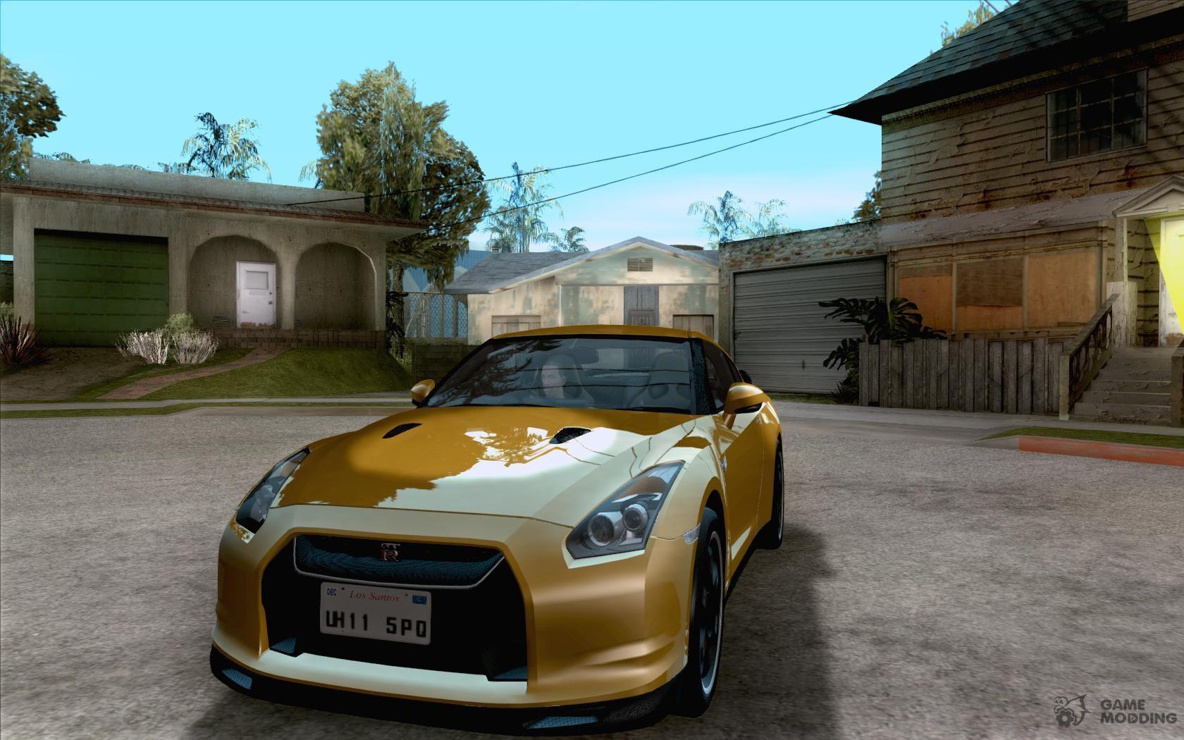 Nissan Gt R Specv Black Revel For Gta San Andreas Spec V