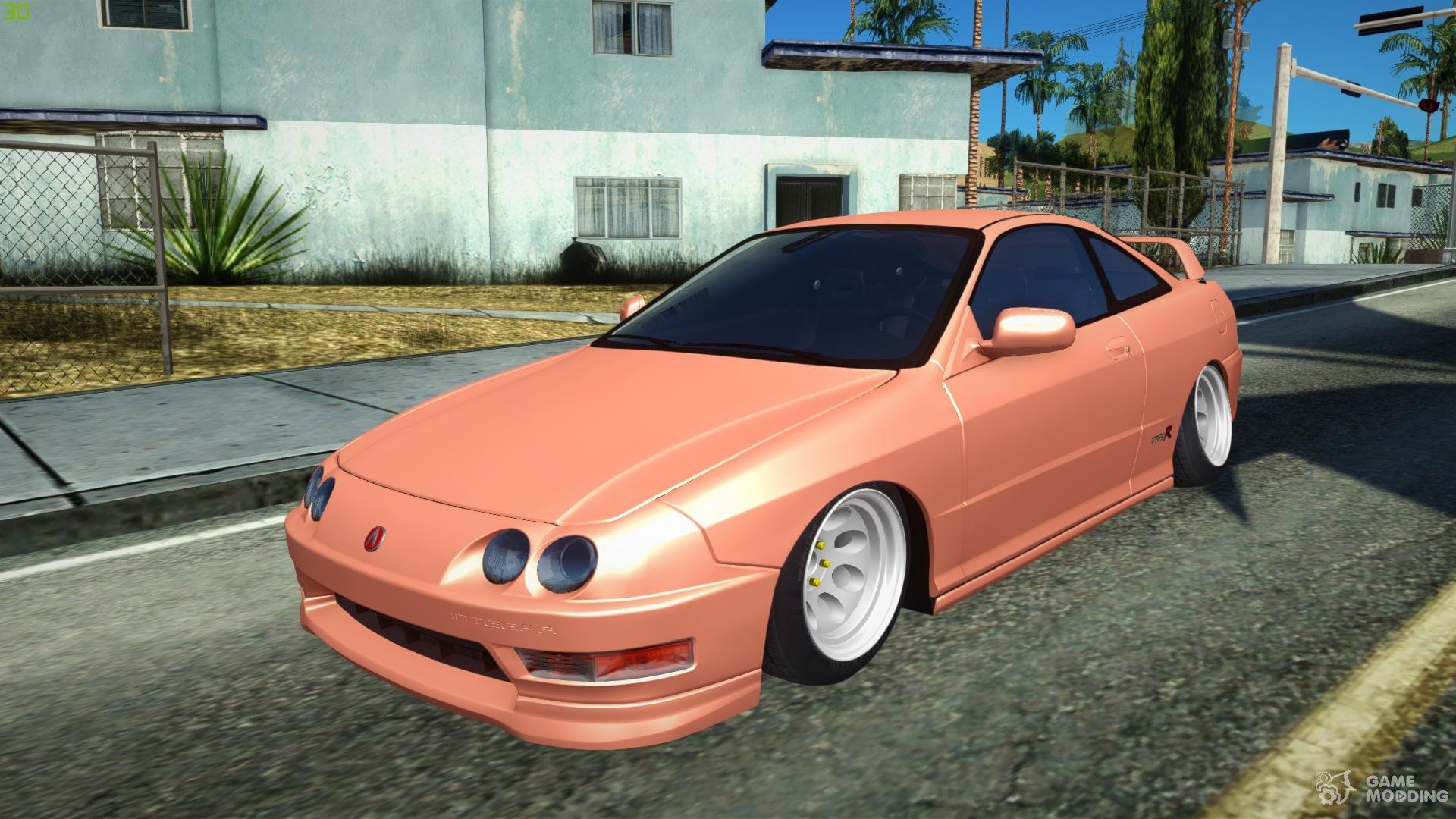 El Acura Integra Type R De 2001 Jdm Para Gta San Andreas