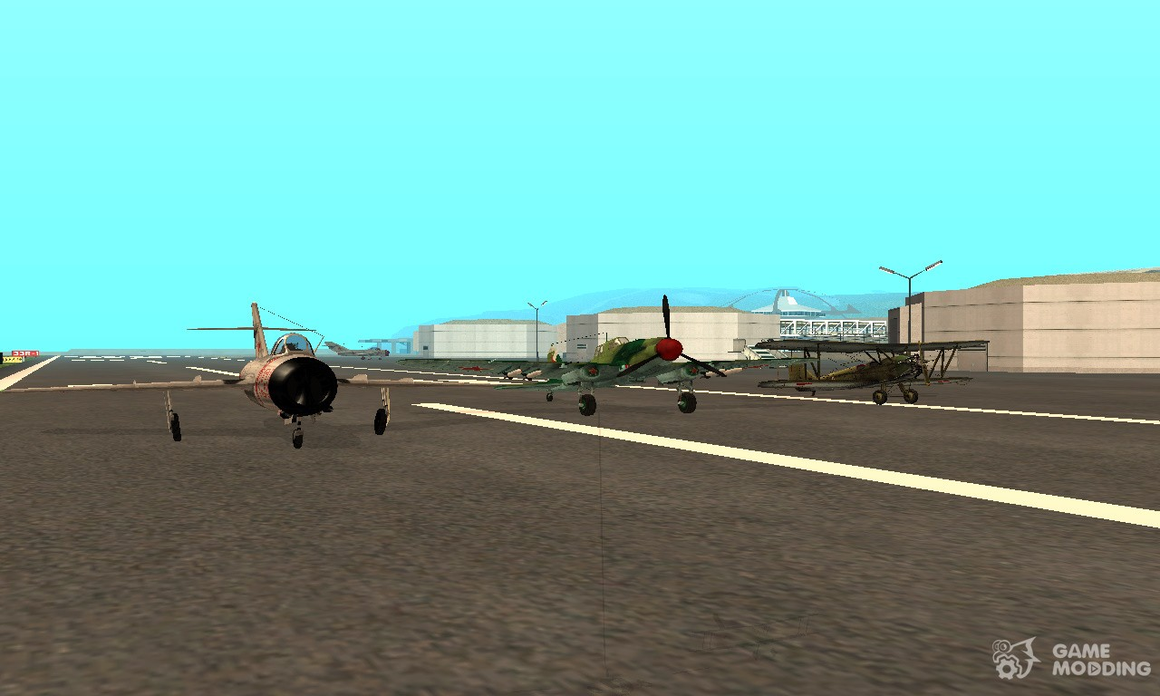 airplane packs for gta san andreas with automatic installation