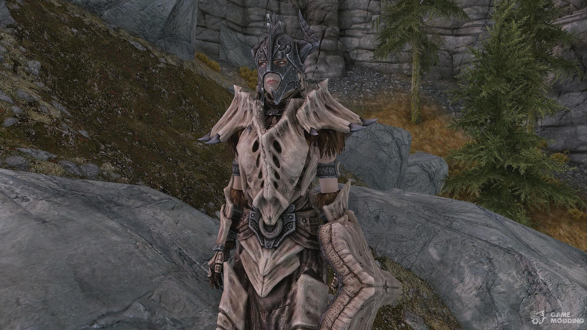skyrim how to get dragon armor without smithing