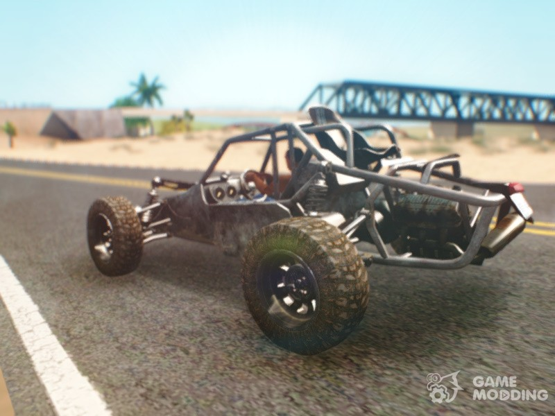 Playerunknown's Battleground Buggy For GTA San Andreas