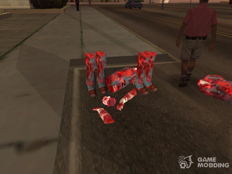 Chainsaw Massacre v  2 0 for GTA San Andreas