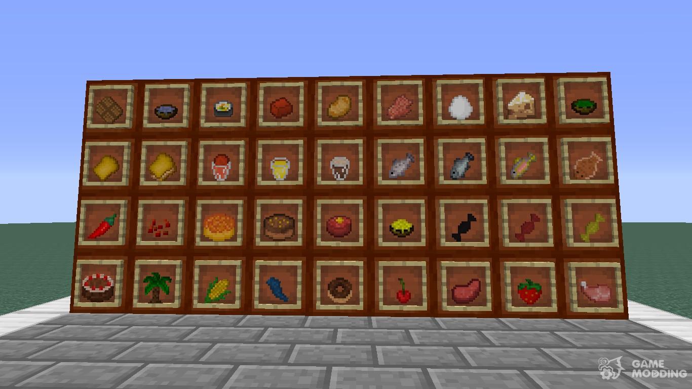 minecraft food chart - HD1366×768