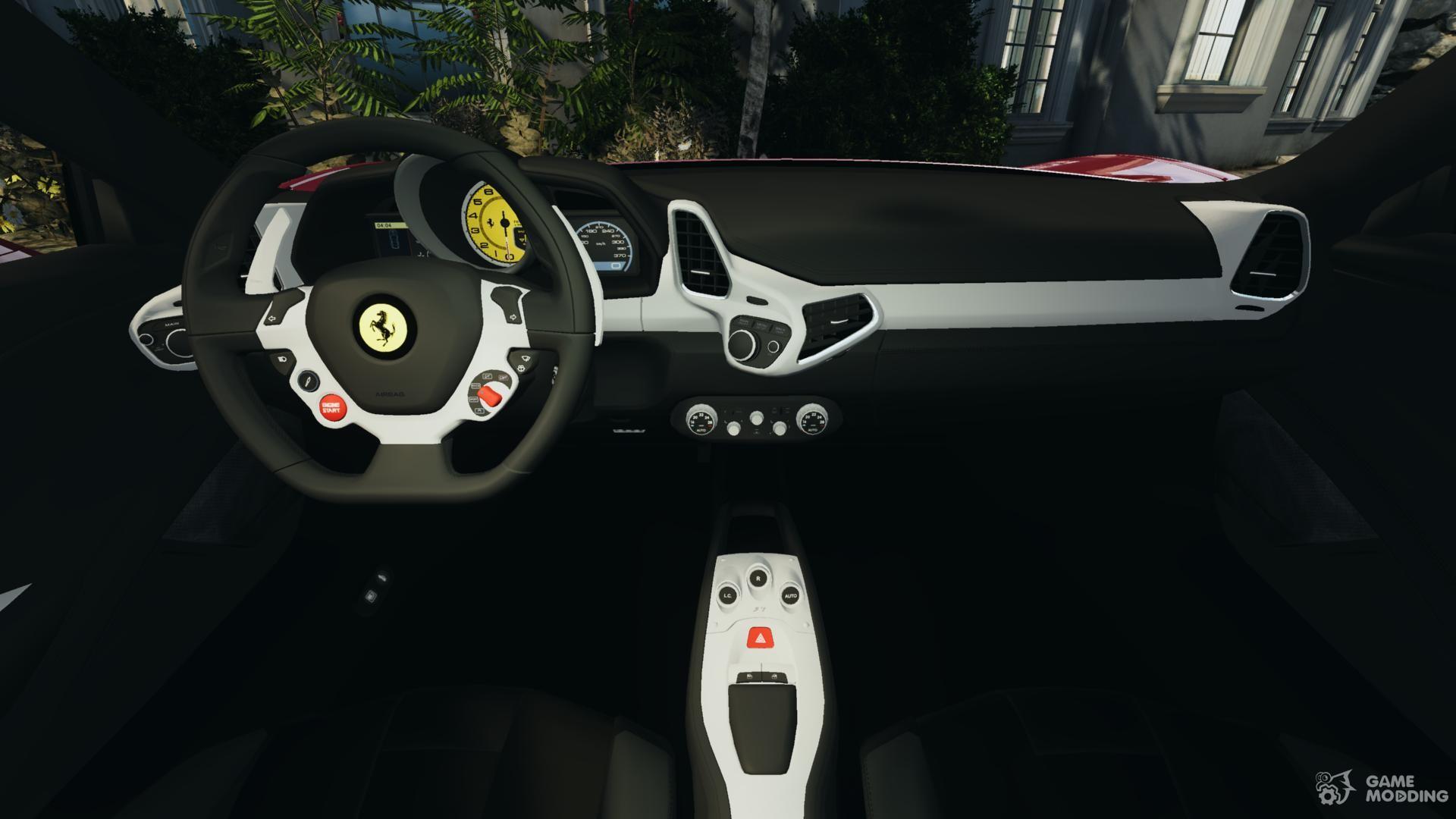 Ferrari 458 italia 2010 v 20 for gta 4 ferrari 458 italia 2010 v20 for gta 4 inside view vanachro Gallery