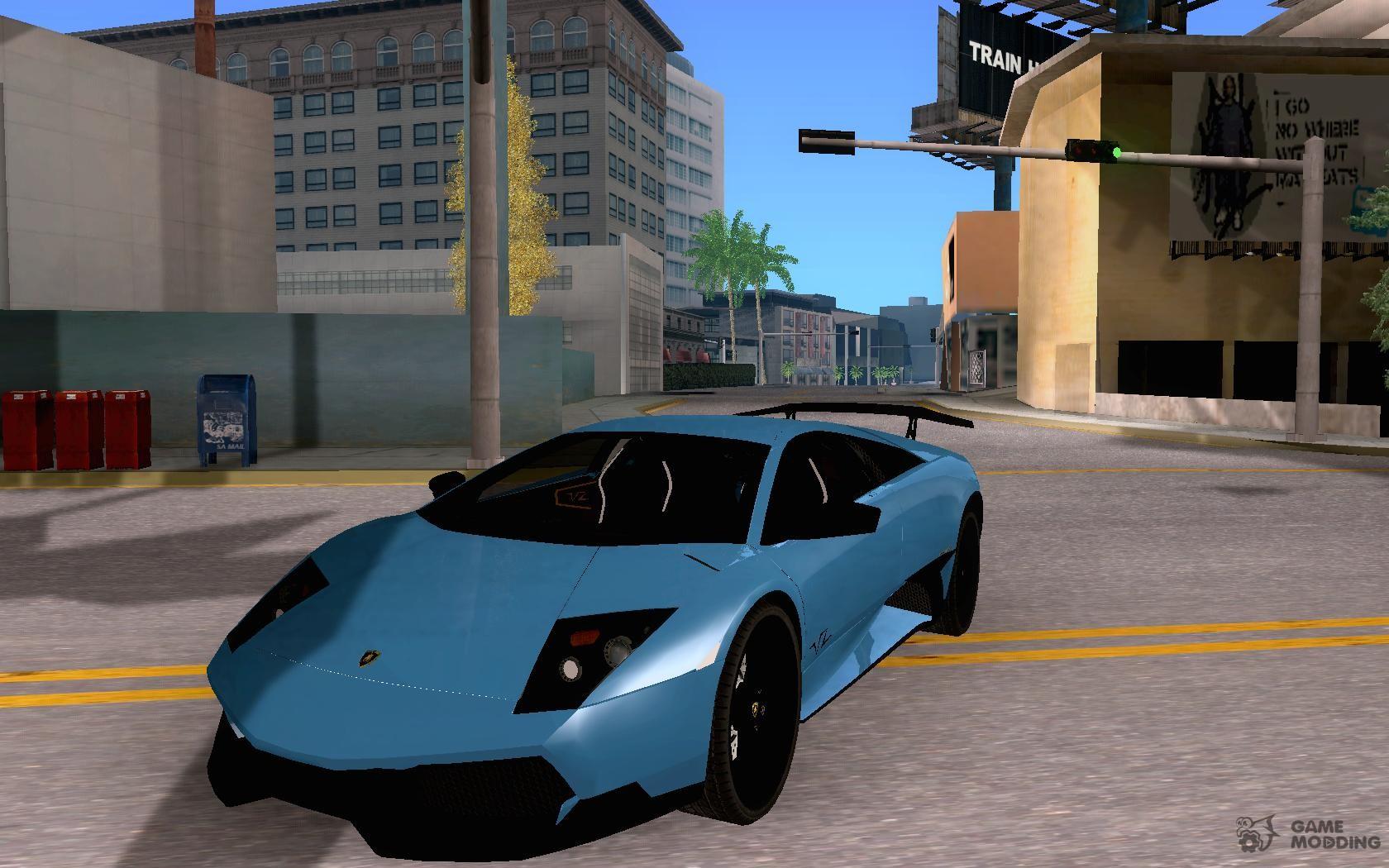 Lamborghini Murcielago Lp 670 4 Sv For Gta San Andreas