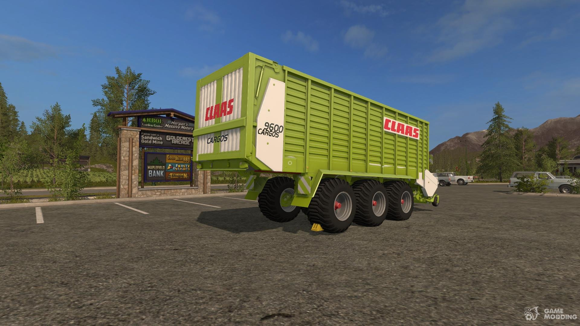 The silage Claas Cargos 9600 version 1 0 0 0 for Farming