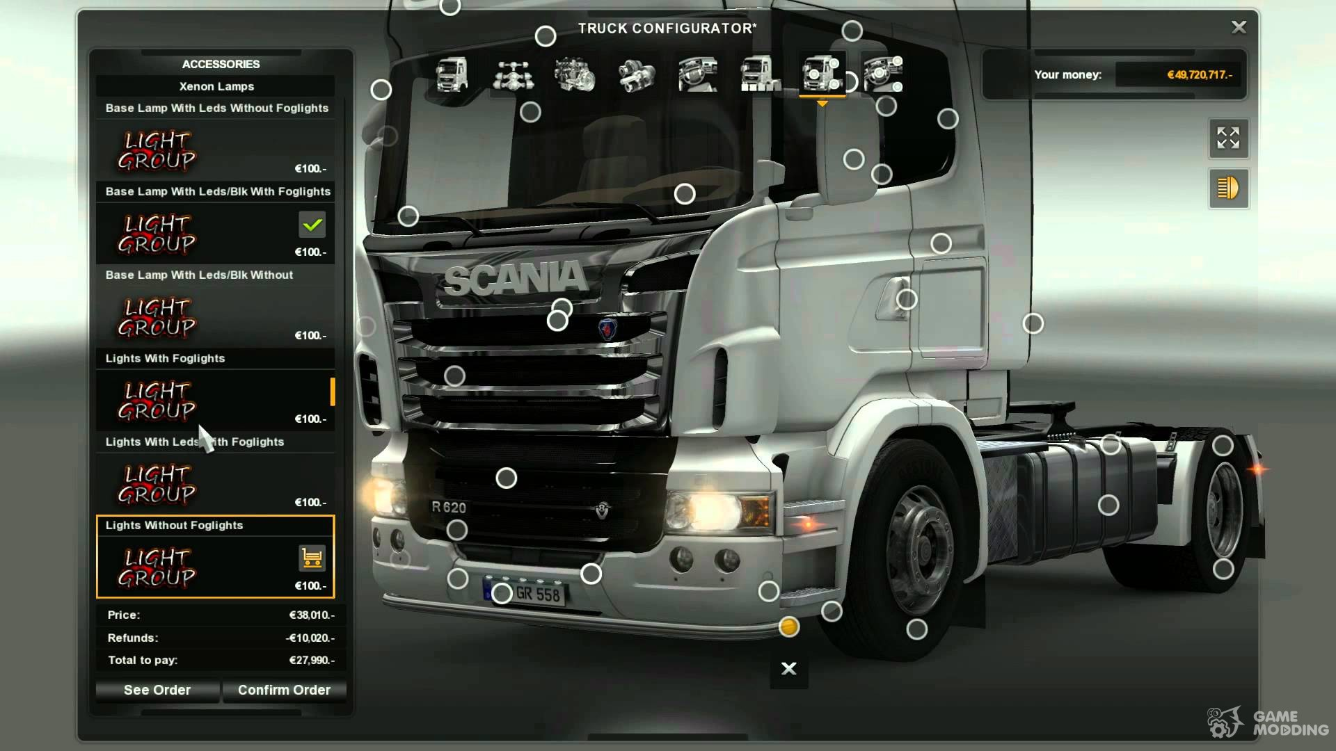 scania mega store bonus for version for euro. Black Bedroom Furniture Sets. Home Design Ideas