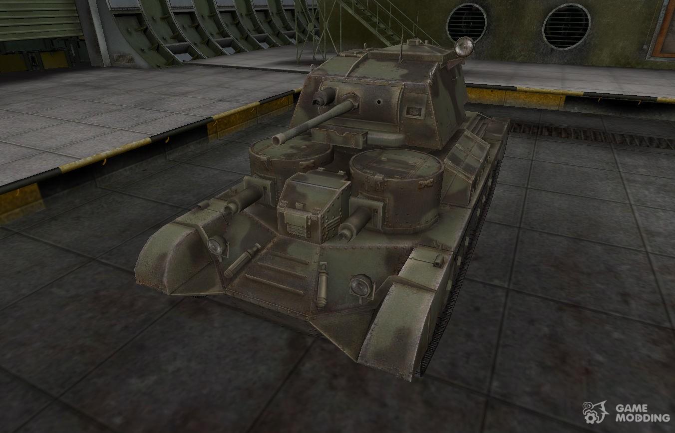 Desert skin for the Cruiser Mk I for World Of Tanks