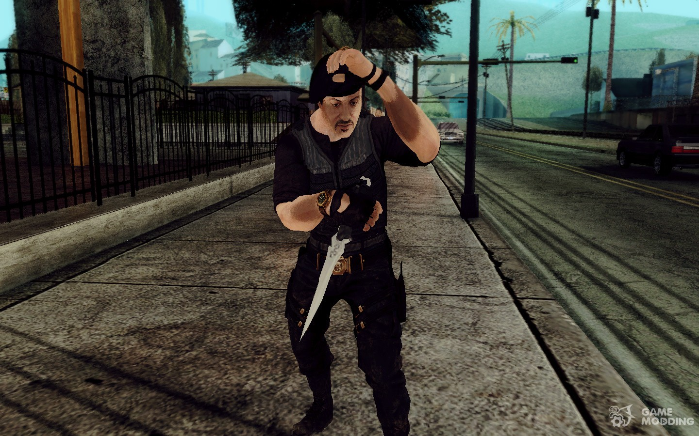 barni in the movie quotthe expendablesquot for gta san andreas