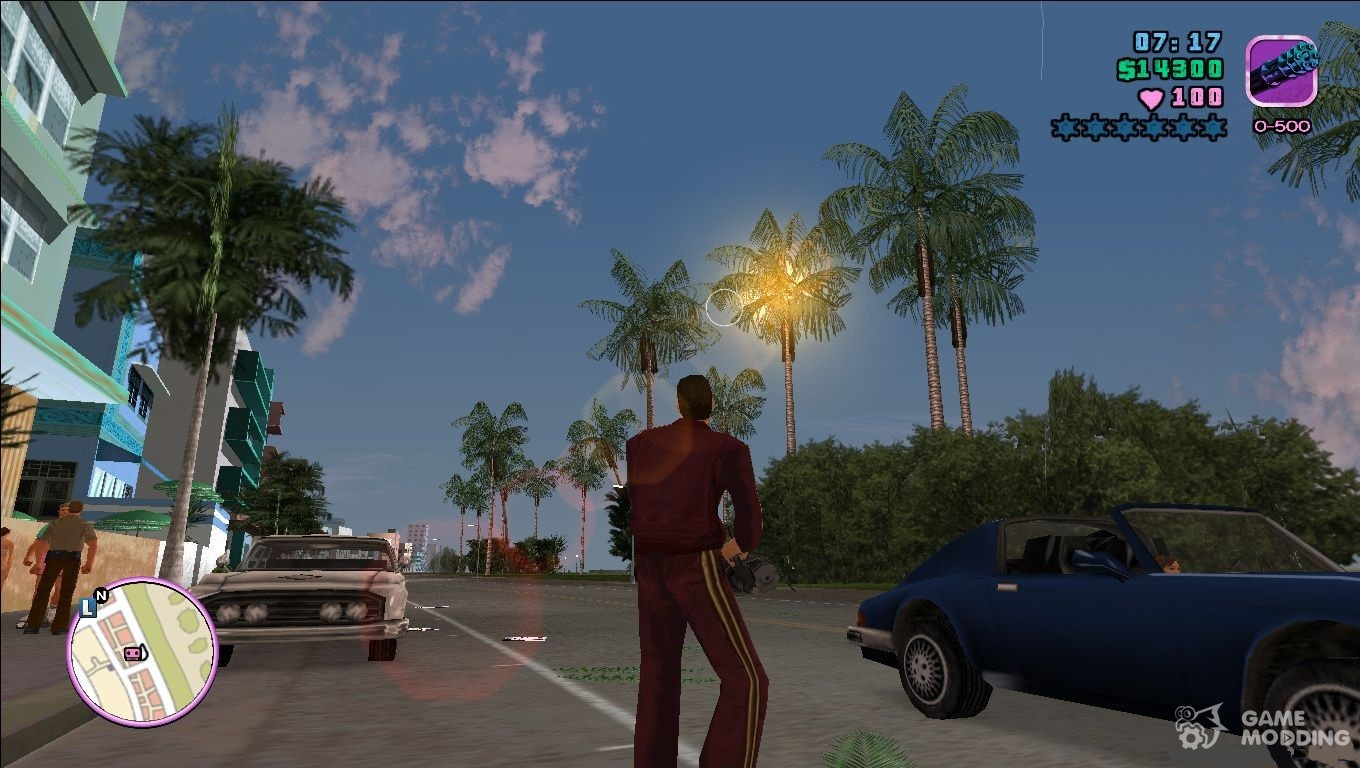 Remastered Graphics 0 6 for GTA Vice City