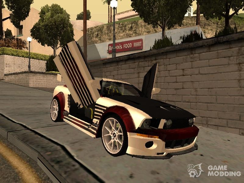 Nfs Mw Ford Mustang Gt For Gta San Andreas Left View