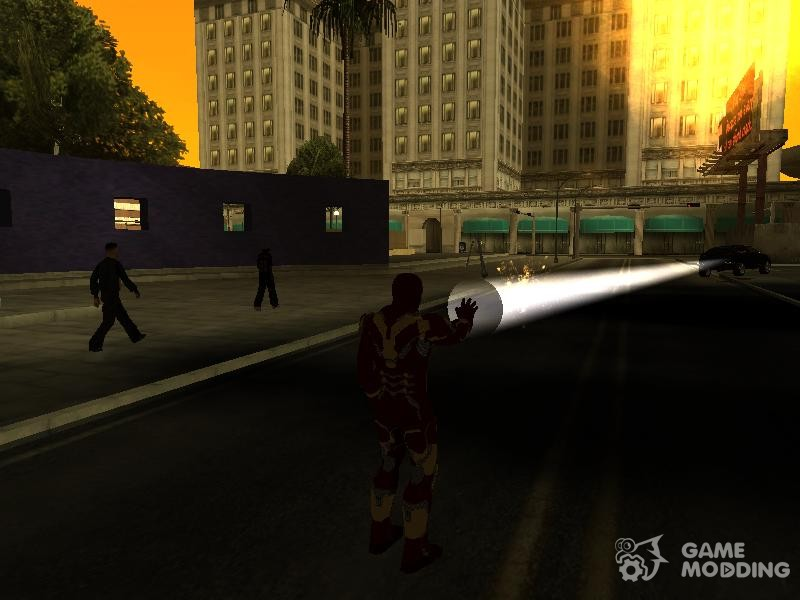 Iron man powers for GTA San Andreas