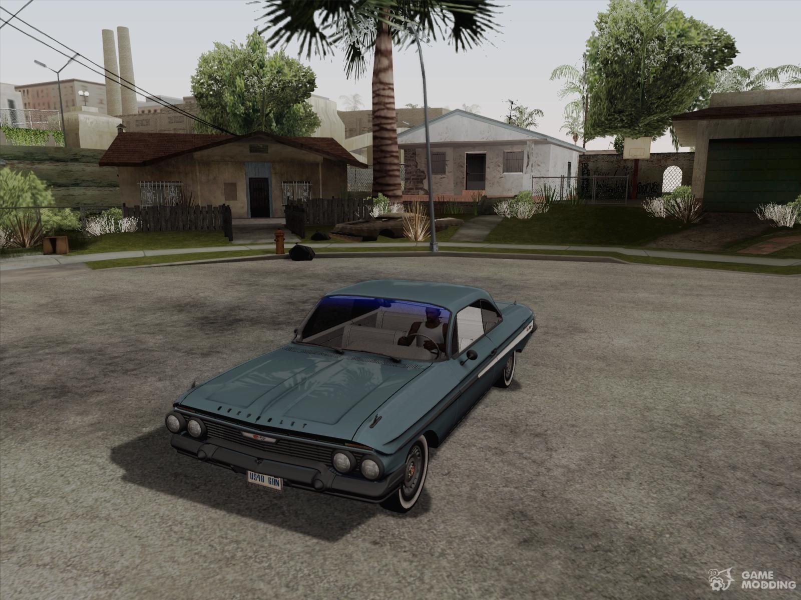 Chevrolet impala 4 door hardtop 1963 for gta san andreas - Chevrolet Impala 61 For Gta San Andreas