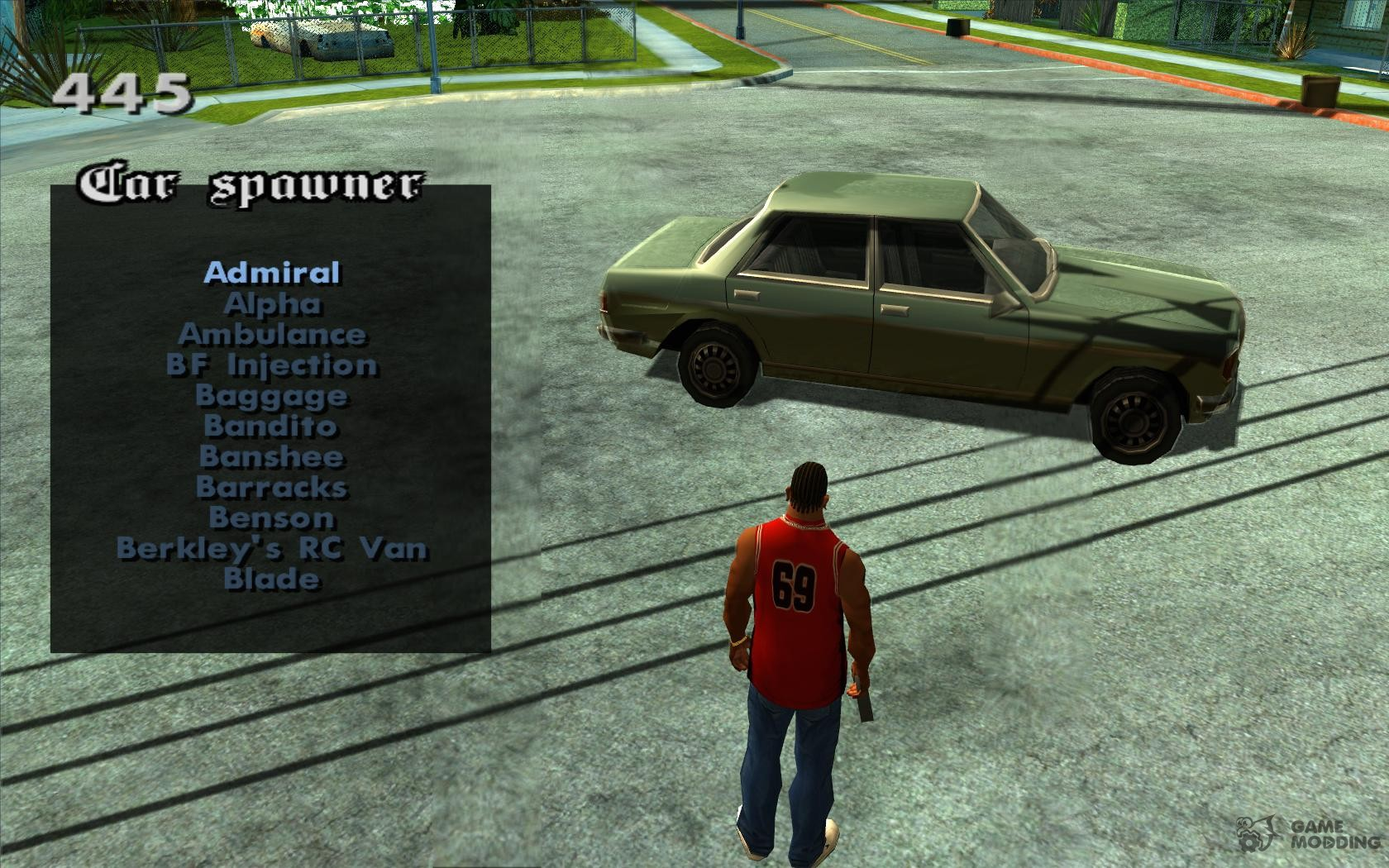 how to delete all mods in gta san andreas