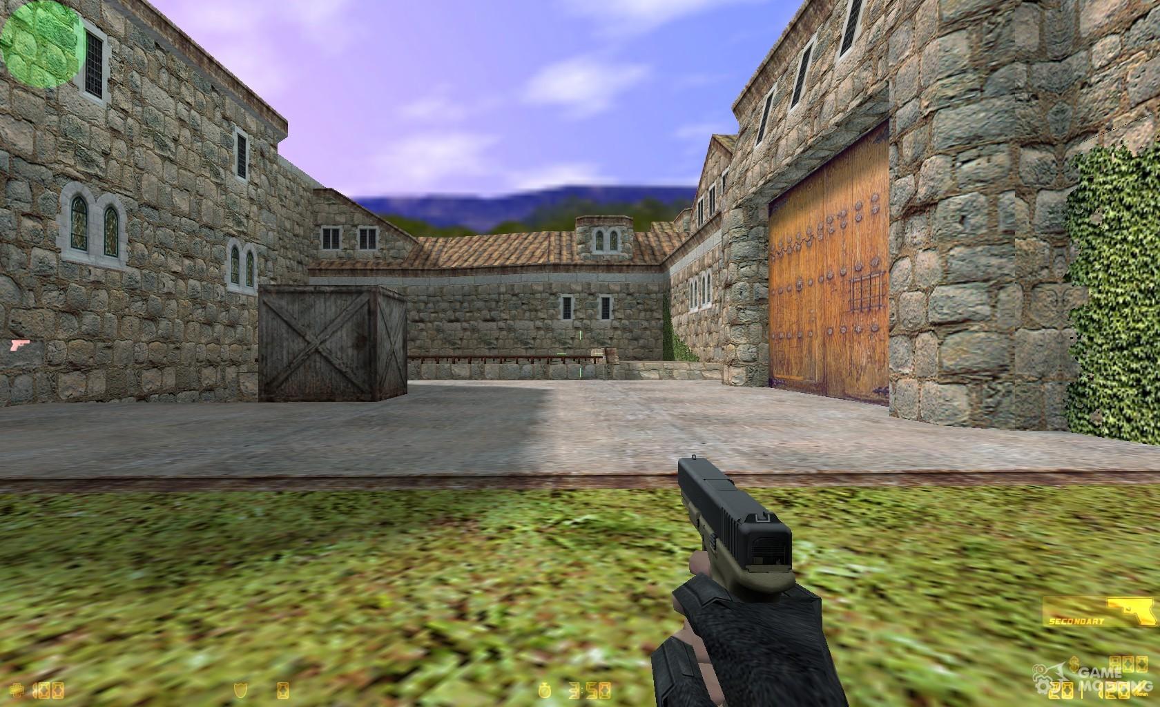 Скачать модель hd glock «fire elemental» для cs 1. 6.