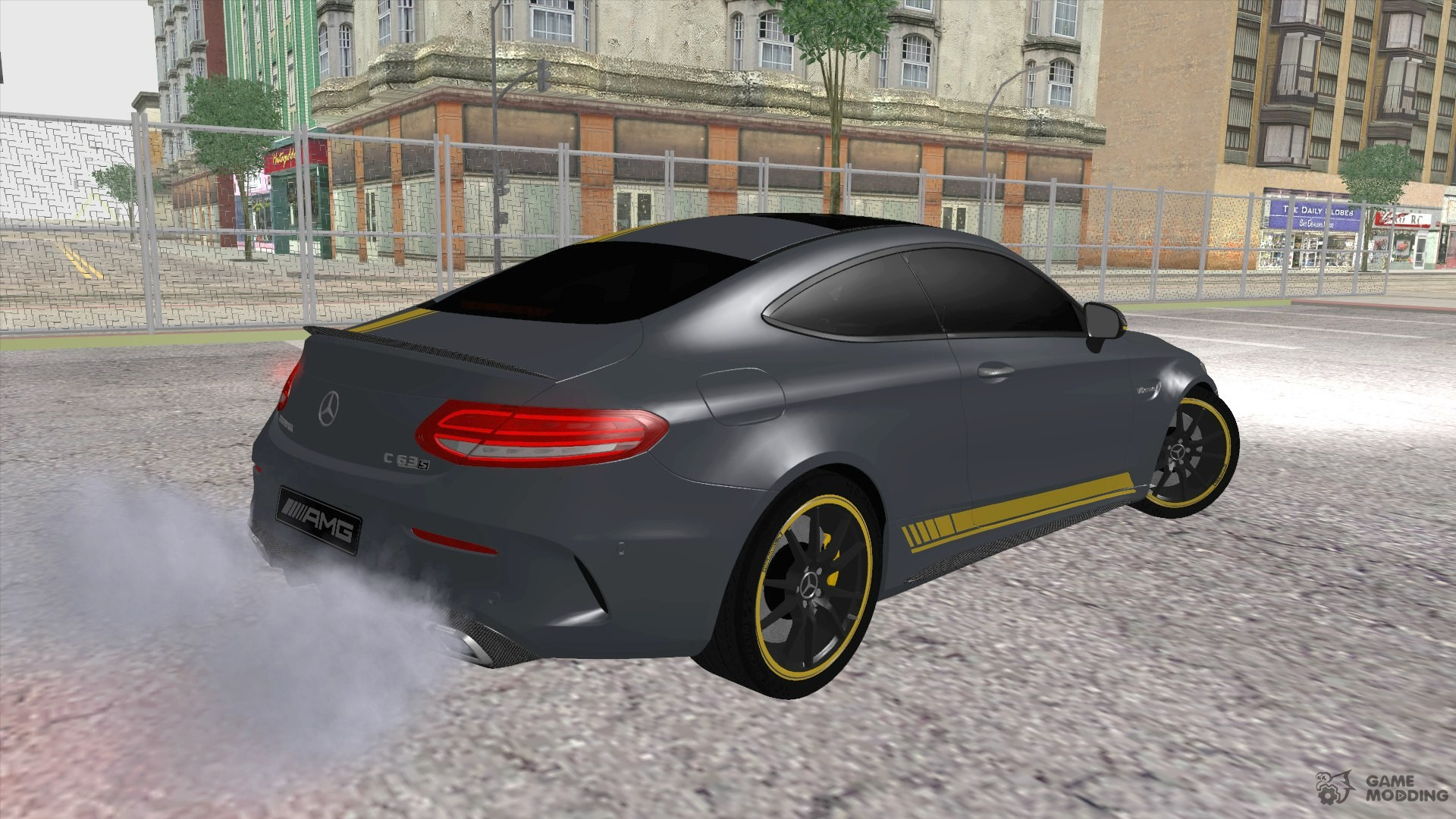 mercedes benz c63s amg coupe 2016 edition 1 for gta san andreas. Black Bedroom Furniture Sets. Home Design Ideas