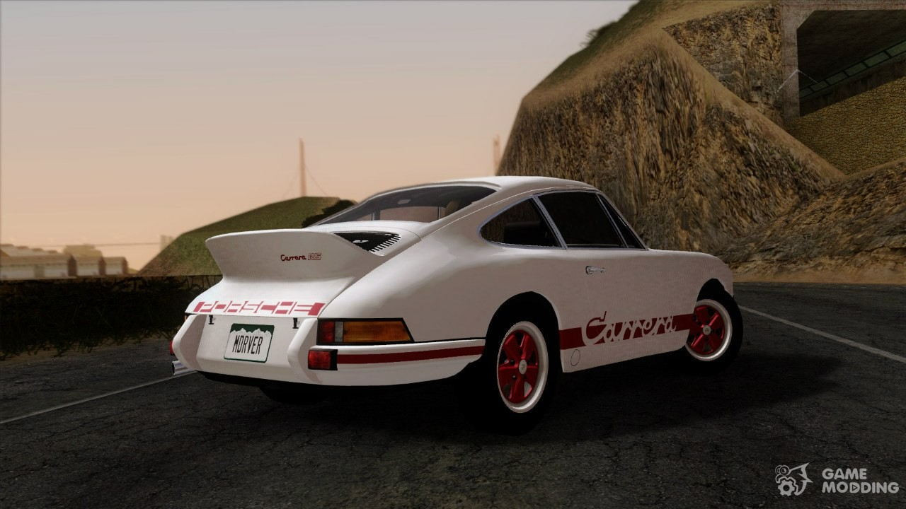 1972 Porsche 911 Carrera 2 7 Rs Sport 911 For Gta San