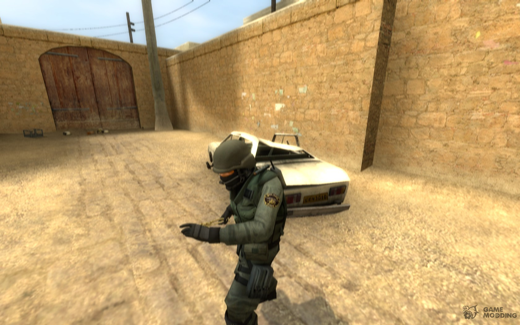 Skeleton arm knife for Counter-Strike Source