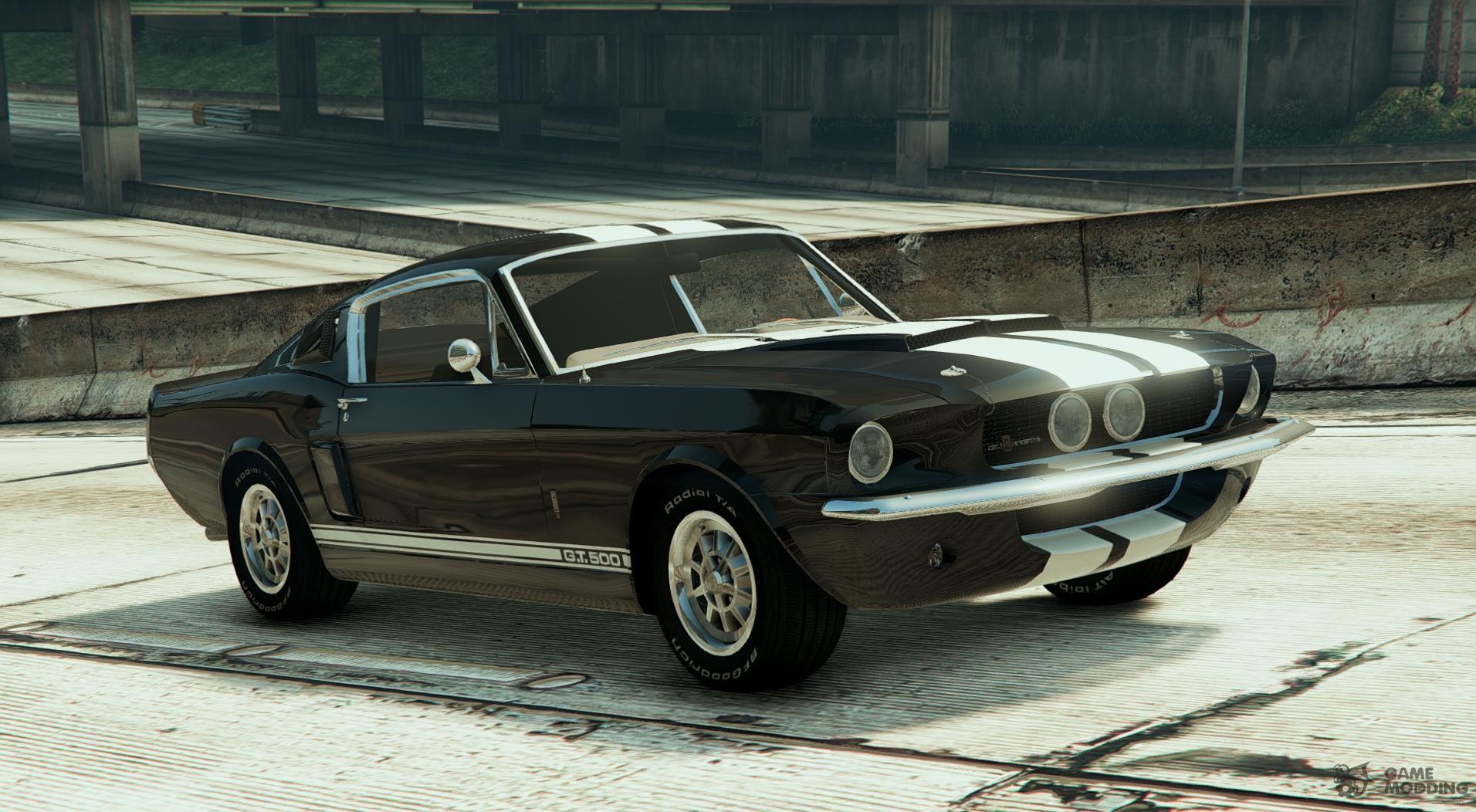 1967 ford mustang gt500 v1 2 for gta 5