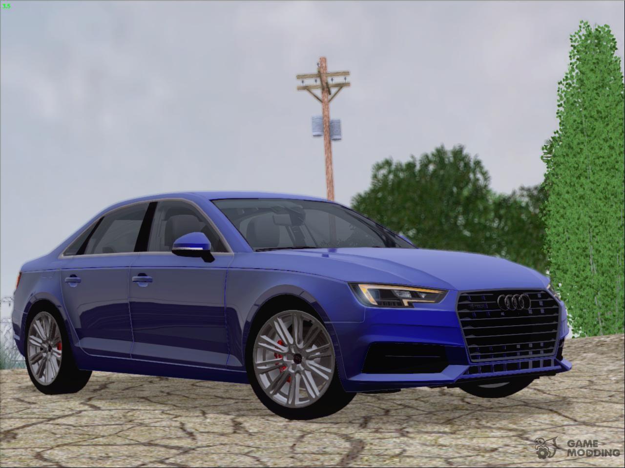 Audi A4 TFSI Quattro 2017 для GTA San Andreas
