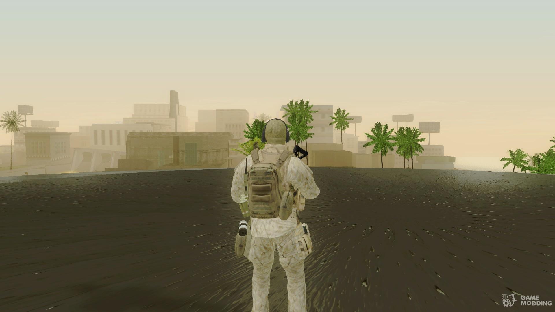 Cod MW2 Ghost Model v2 for GTA San Andreas