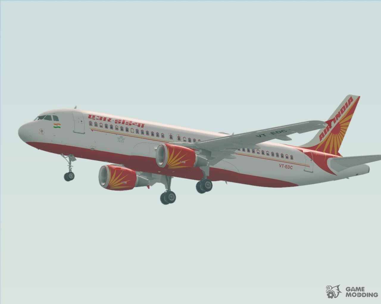 Airbus A320-200 Air India for GTA San Andreas