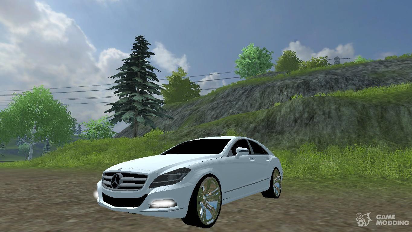 mercedes benz cls 350 cdi for farming simulator 2013. Black Bedroom Furniture Sets. Home Design Ideas