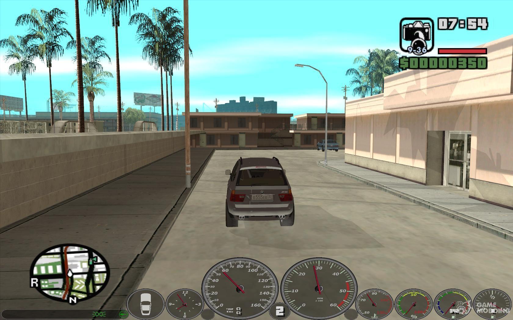 memphis Speedometer v 2 0 for GTA San Andreas