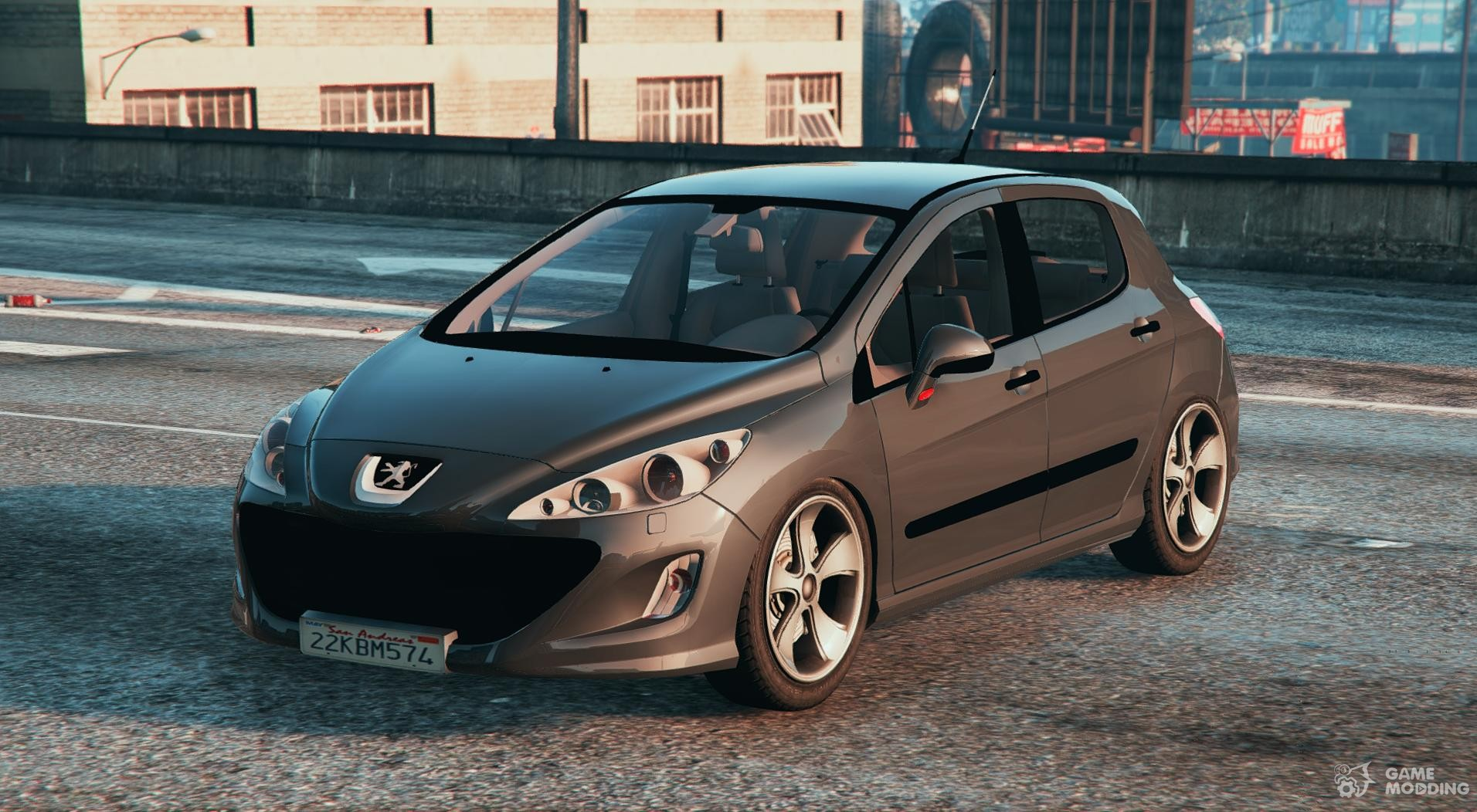 peugeot 308 hdi for gta 5. Black Bedroom Furniture Sets. Home Design Ideas