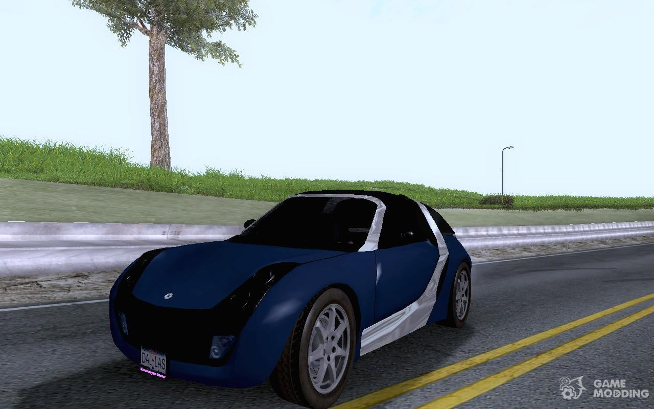 smart roadster coupe for gta san andreas. Black Bedroom Furniture Sets. Home Design Ideas