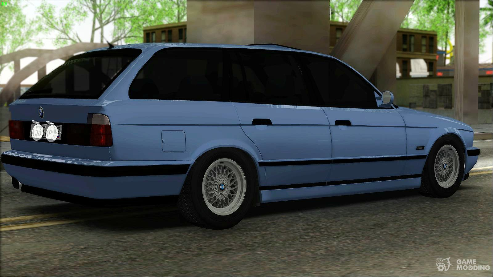 bmw m5 e34 touring for gta san andreas. Black Bedroom Furniture Sets. Home Design Ideas