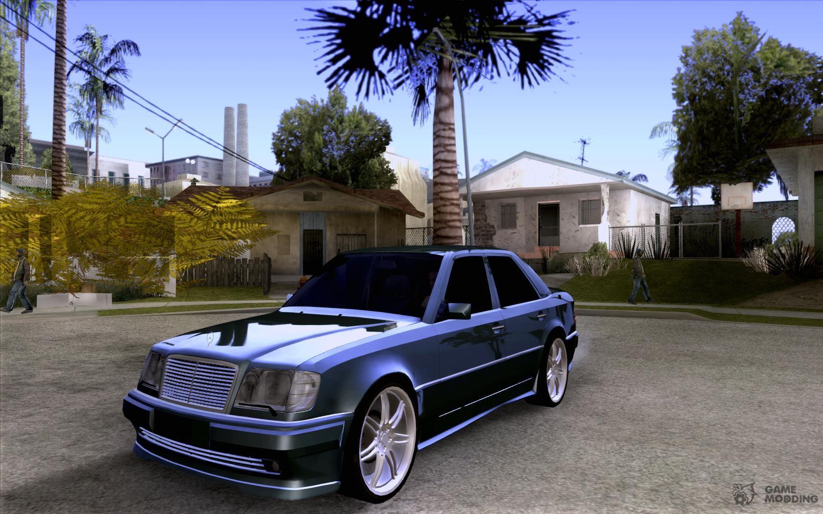 Mercedes benz w124 e500 95 for gta san andreas for Mercedes benz w124 parts