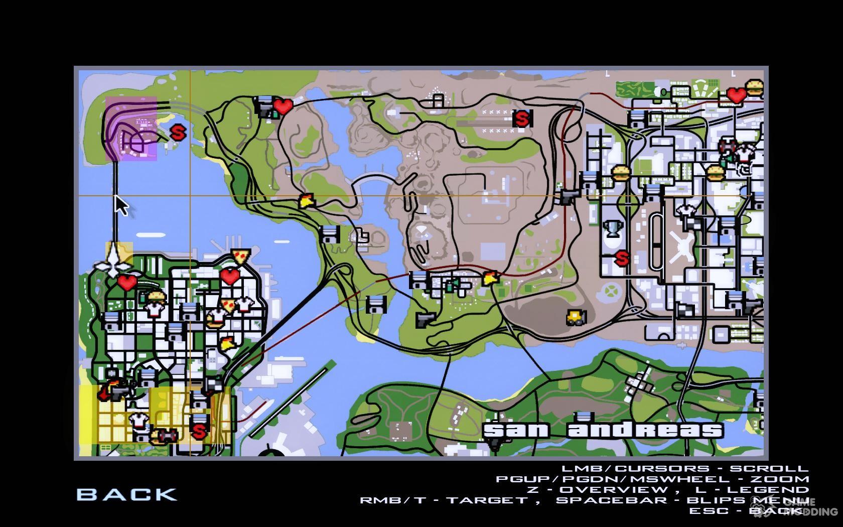 Worksheet. New Golden Gate bridge SF v 10 for GTA San Andreas