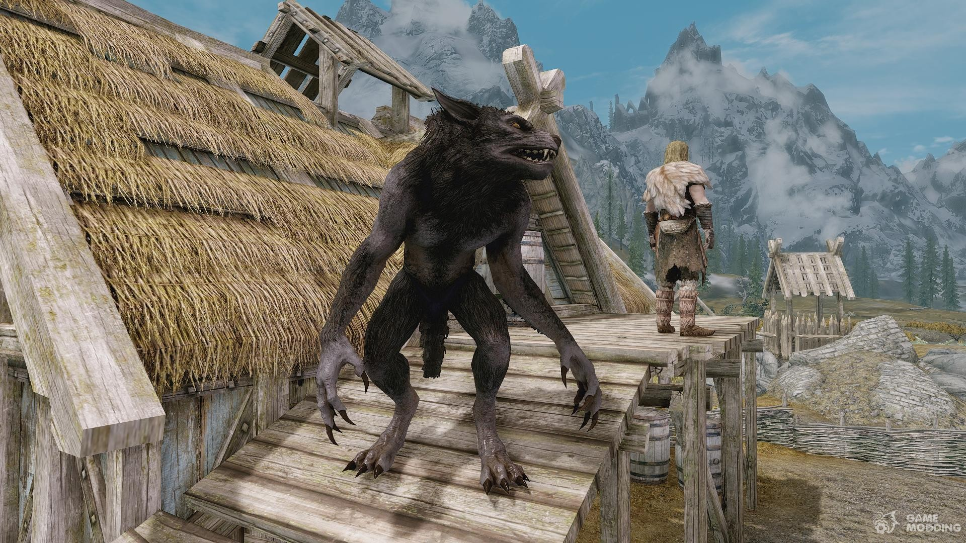 Summon Werewolf and Co - Mounts and Followers for TES V: Skyrim