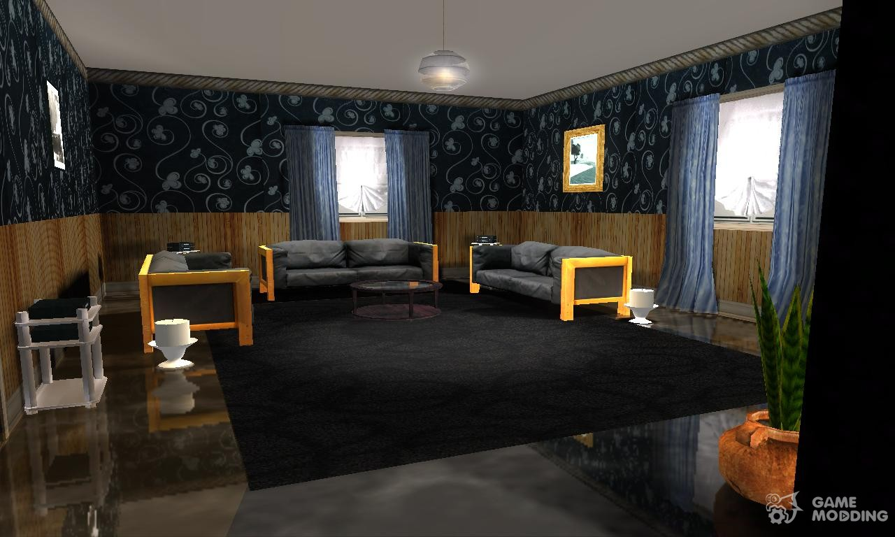 New Realistic Interiors For Houses For Gta San Andreas