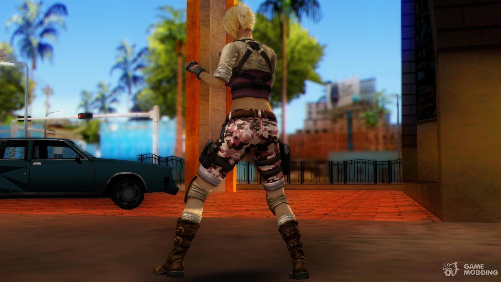 Party Girl Mesh para GTA San Andreas