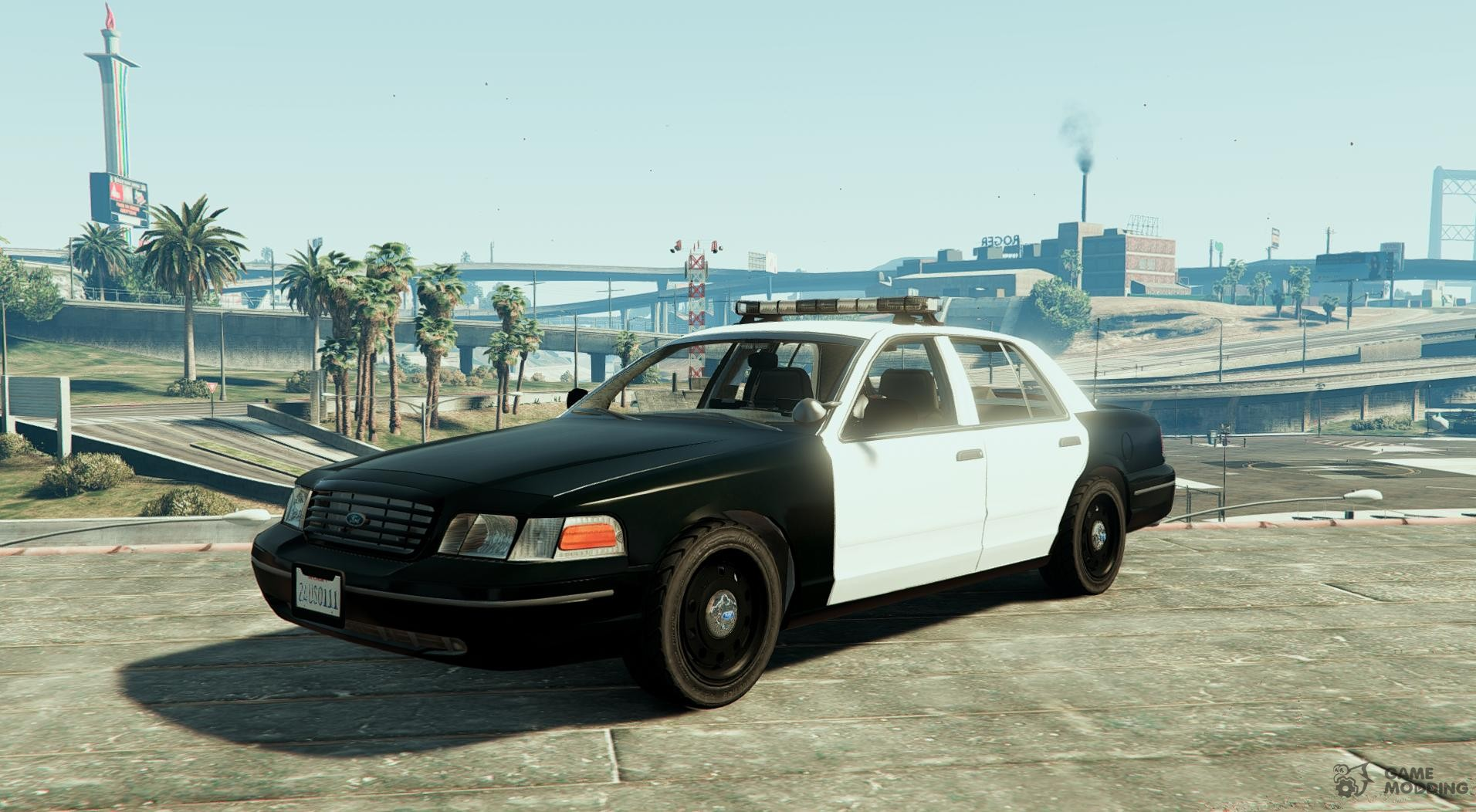1999 ford crown victoria with whelen edge lightbar 13 for gta 5 aloadofball Image collections
