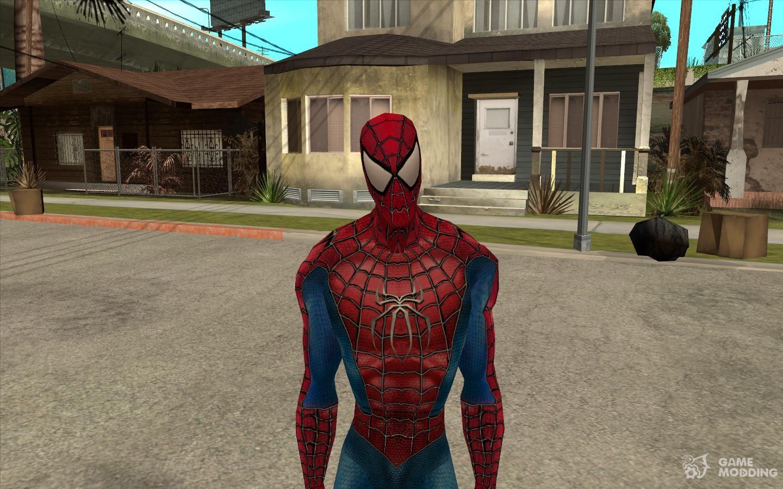 Скачать мод для гта санандрес человек паук