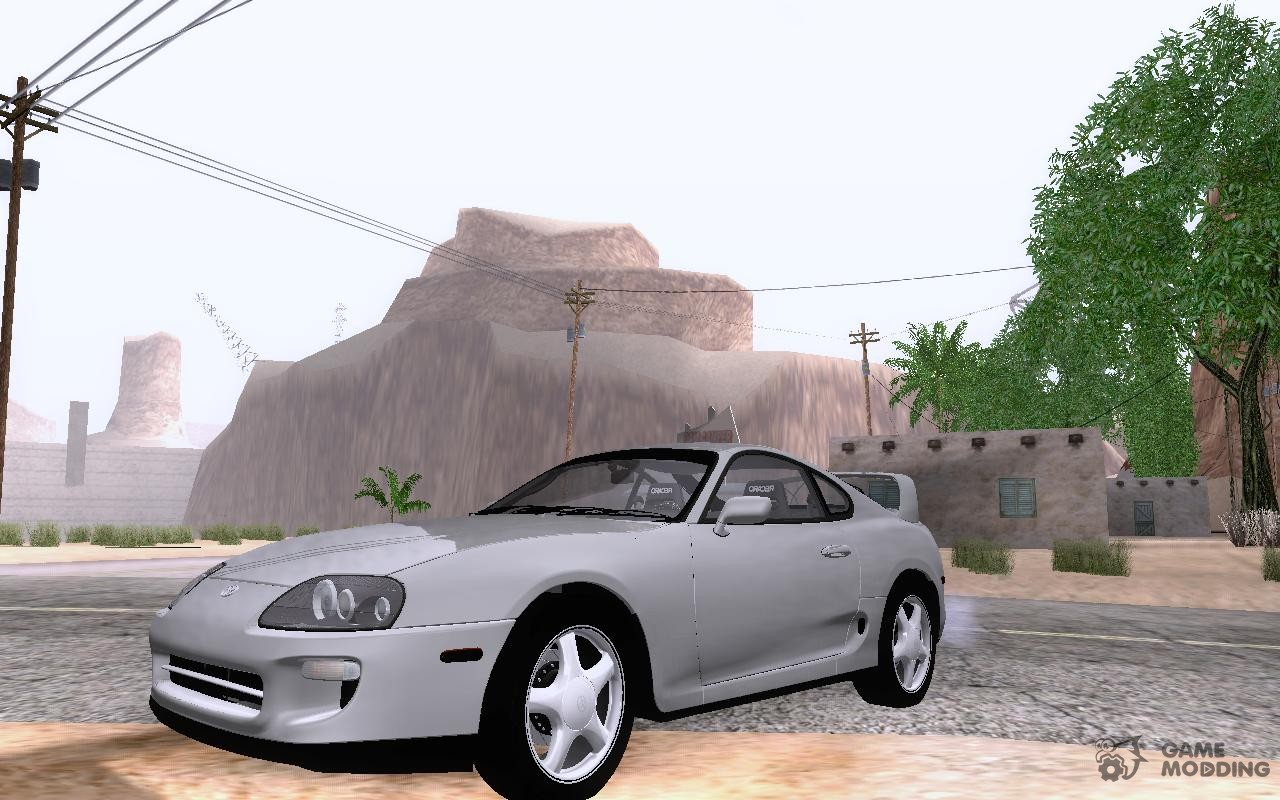 98 toyota supra rz twin turbo for gta san andreas. Black Bedroom Furniture Sets. Home Design Ideas