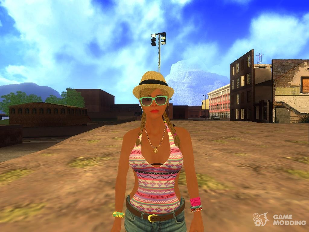 Tracey De Santa (GTA V) v. 2 for GTA San Andreas